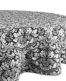 "Damask Tablecloth 70"" Round"