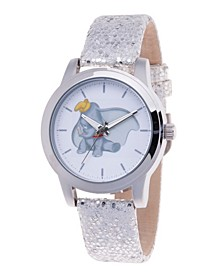 Women's Disney Dumbo Gray Strap Watch 38mm
