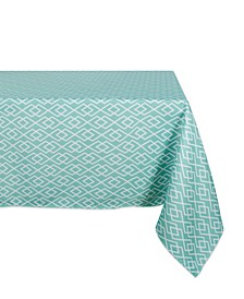"""Diamond Outdoor Tablecloth with Zipper 60"""" x 84"""""""