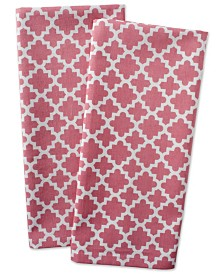 Lattice Dishtowel, Set of 2
