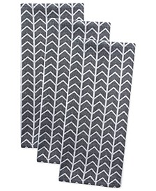 Herringbone Dishtowel, Set of 3