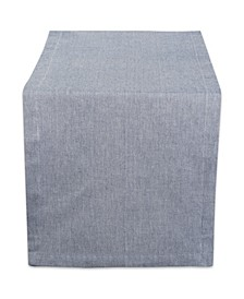 "Solid Chambray Table Runner 14"" x 108"""