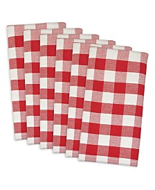 Check Napkin, Set of 6