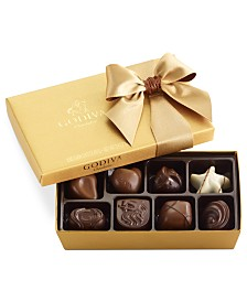 Godiva Chocolatier, 8-Pc. Gold Bow Ballotin Box of Chocolates