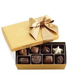Godiva Chocolatier, 8-Pc. Gold Bow Ballotin Box of Chocolates