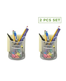 2 Piece Office Supply Storage Desk Organizer