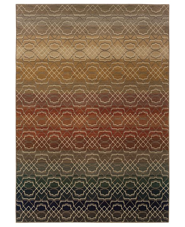 """Oriental Weavers Area Rug, Kasbah 3945B Fuse 9'10"""" x 12'10"""""""