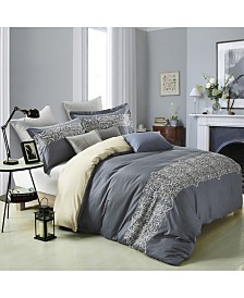 Superior Harrison Duvet Cover Set - Full/Queen