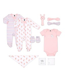 Ps By The Peanutshell Baby Girl 10-Piece Layette Gift Set