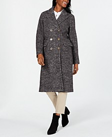 Double-Breasted Midi Coat