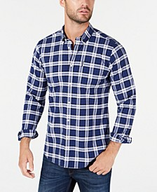 Men's Tailored-Fit Highland Check 11 Shirt