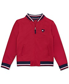 Tommy Hilfiger Big Girls Bomber Jacket