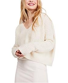 Moonbeam V-Neck Sweater