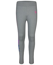 Big Girls Gradient-Logo Leggings