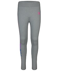 Converse Big Girls Gradient-Logo Leggings