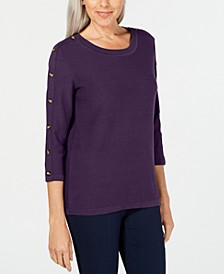 3/4-Sleeve Sweater, Created for Macy's