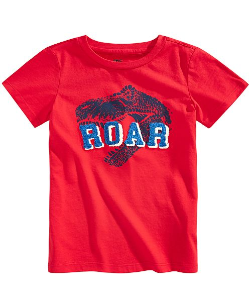 Epic Threads Toddler Boys Roar Tufted Chenille T-Shirt, Created for Macy's