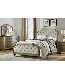 Trisha Yearwood Jasper County Stately Brown Upholstered Bedroom Collection