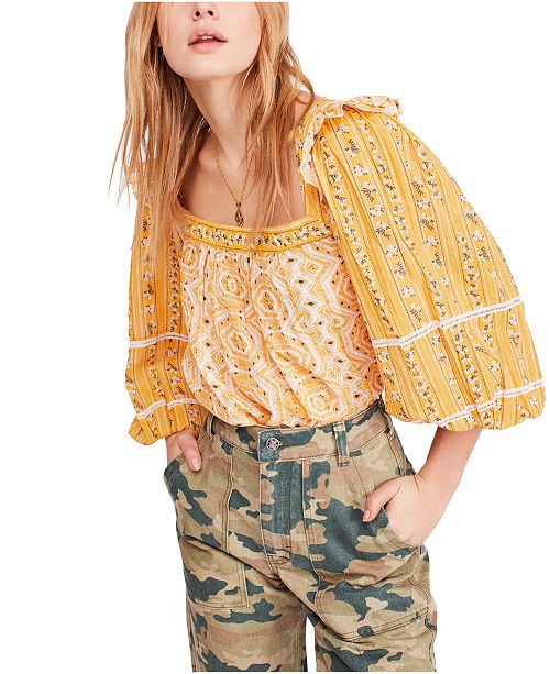 Free People Mostly Meadow Top