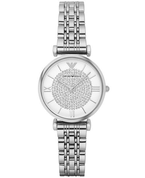 Emporio Armani Women's Stainless Steel Bracelet Watch 32mm AR1925