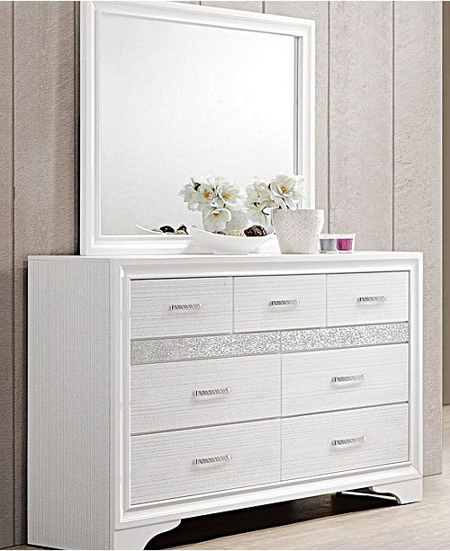 Coaster Home Furnishings Miranda 7-Drawer Dresser with Hidden Jewelry Tray