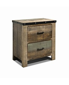 Sembene 2-Drawer Nightstand
