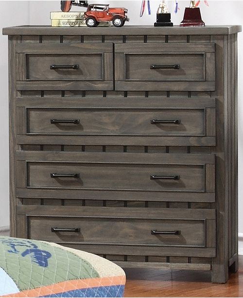 Coaster Home Furnishings Napoleon 5-Drawer Chest with Paneled Design