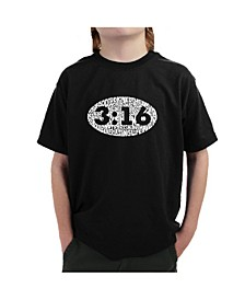 Big Boy's Word Art T-Shirt - John 3:16