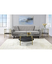 Picket House Furnishings Blaine 3 Piece Occasional Table Set