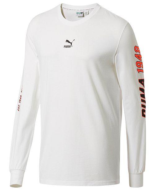 Puma Men's LuXTG Luxe Long-Sleeve T-Shirt