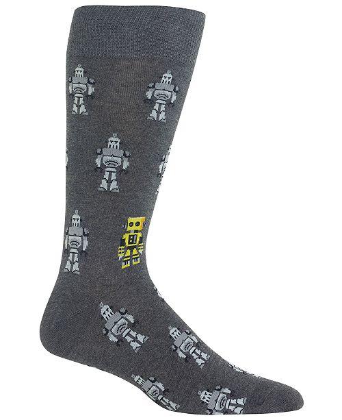 Hot Sox Men's Robots Socks