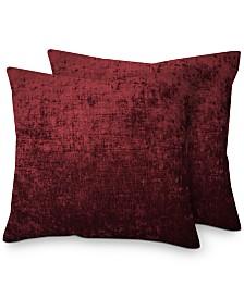 "Hallmart Collectibles 2-Pk. Chenille 20"" x 20"" Decorative Pillows"