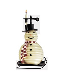 100 Hour Snowman Candle