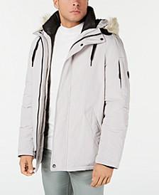Men's Snorkel Jacket with Faux-Fur Trim
