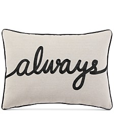 "VCNY Home Always 14"" x 20"" Decorative Pillow"