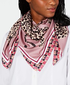 Vince Camuto Leopard Love Classic Square Scarf