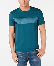 Men's Bonded Satin Stripe T-Shirt