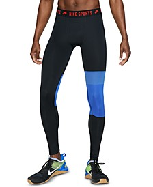 Men's Pro Sport Clash Colorblocked Compression Leggings