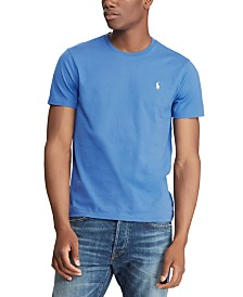 Polo Ralph Lauren Men's Solid Cotton T-Shirt