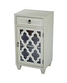 Heather Ann Aria Accent Cabinet with Drawer