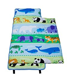 Endangered Animals Cotton Nap Mat