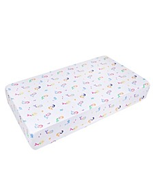 Mermaids Fitted Crib Sheet