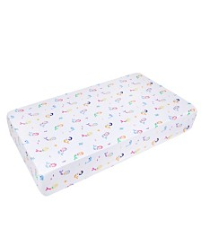 Wildkin's Mermaids Fitted Crib Sheet