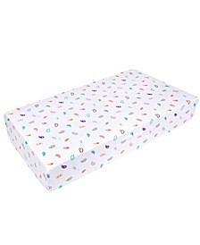 Paisley Fitted Crib Sheet