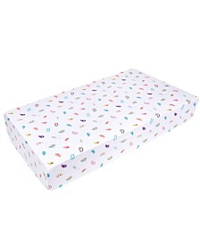Wildkin's Paisley Fitted Crib Sheet