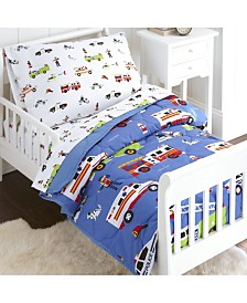 Wildkin's Heroes Sheet Set - Toddler