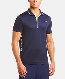 Lacoste Men's Ultra Dry Side Logo Golf Polo Shirt