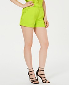 GUESS Izabella Lace Trim Shorts