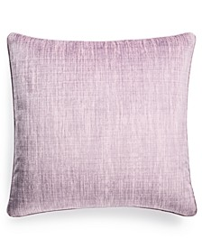 "Printed Velvet 22"" x 22"" Decorative Pillow, Created for Macy's"