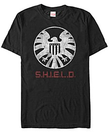 Men's Avengers Agents of S.H.I.E.L.D. Emblem Costume Short Sleeve T-Shirt